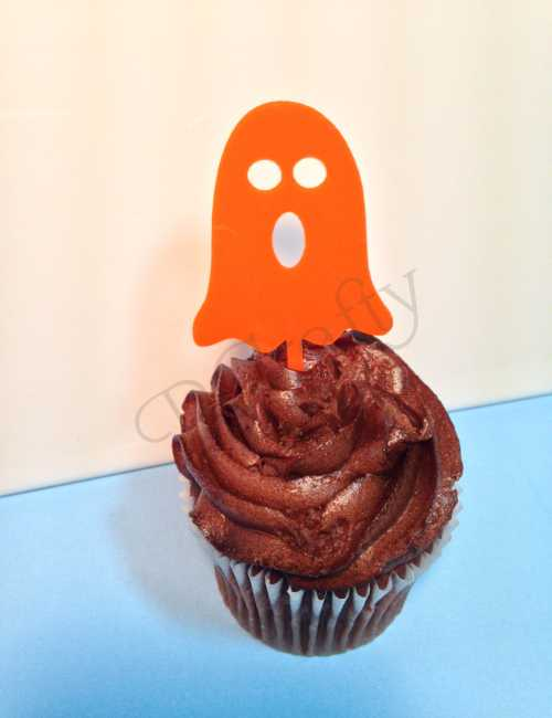 Halloween Package 2 Cupcake Topper 6 count - Laser