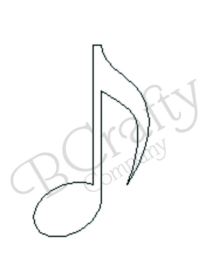 Wholesale Wooden Music Shapes