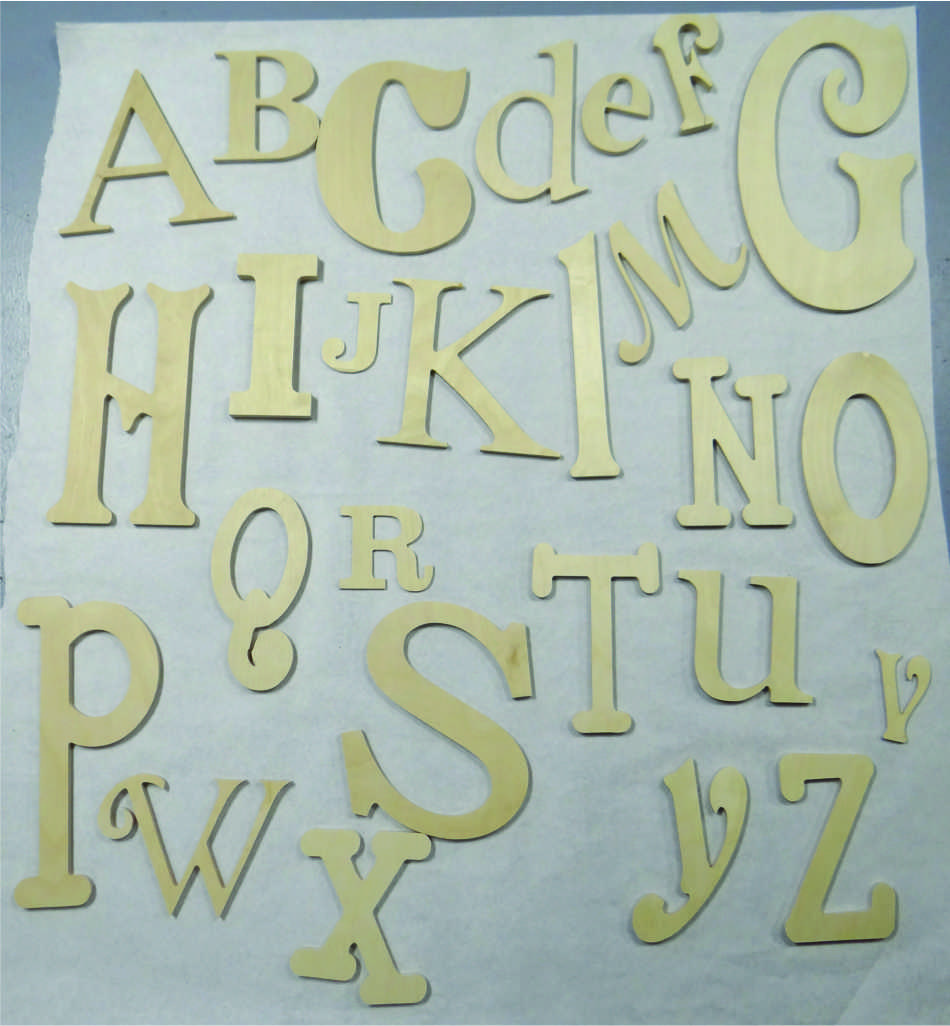 Random Alphabet Collections