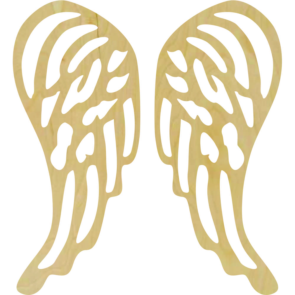Wholesale Wooden Angel Shapes