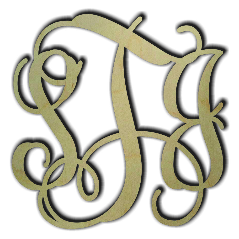 Wholesale Wood Monograms